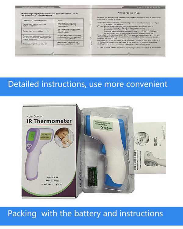 Baby Infrared Thermometer company