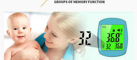 forehead thermometer company
